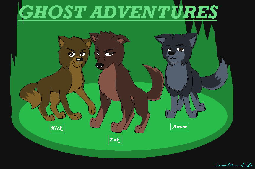 Our Ghost Adventures by Strabius