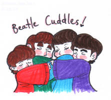 Beatle Cuddles by Strabius