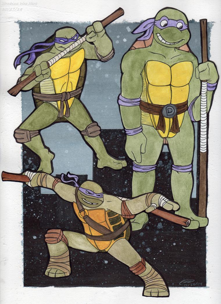 Donatello Over the Years by Strabius