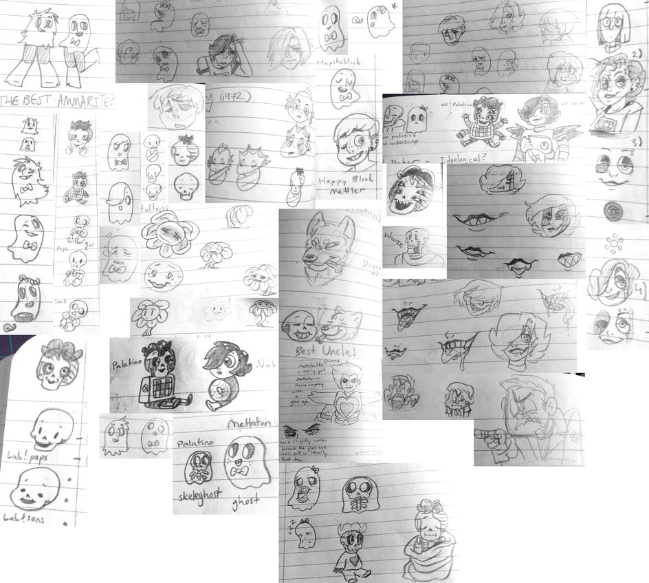 School Notebook Doodles by Strabius on DeviantArt
