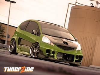 Honda Fit by Ophideus