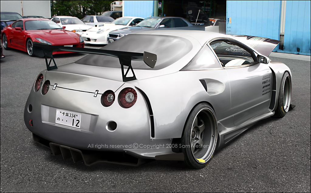 Mitsubishi Eclipse GT-R by Ophideus on DeviantArt