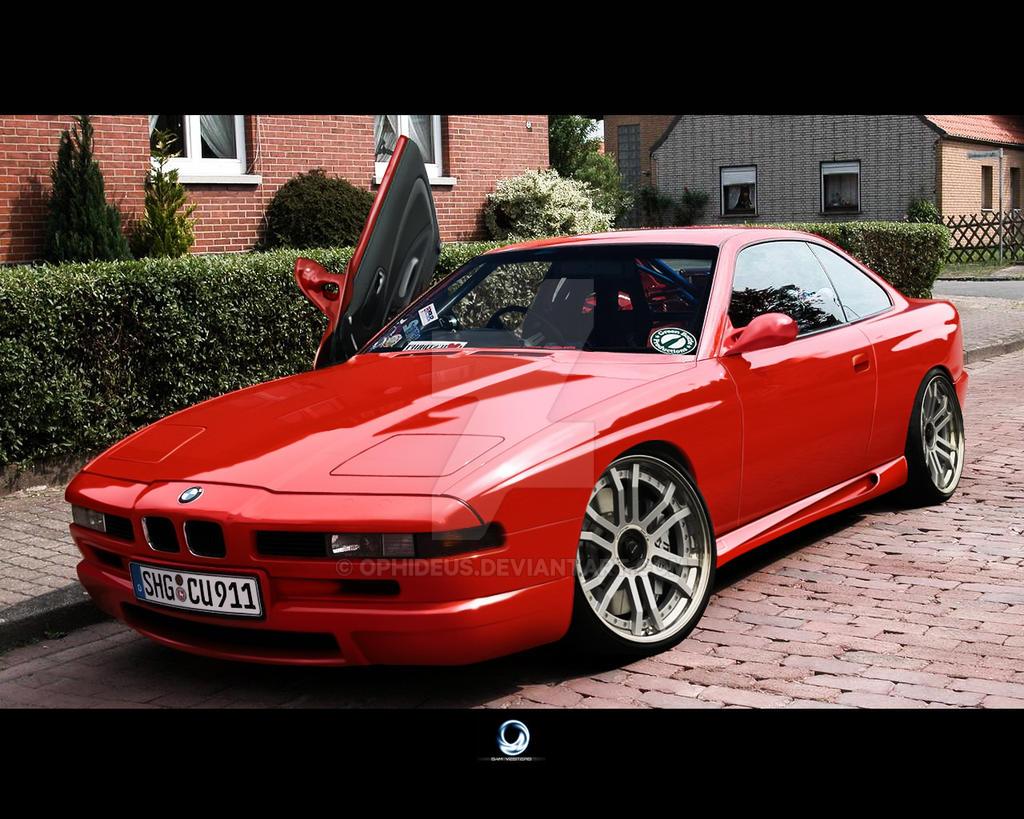 BMW 850csi by Ophideus on DeviantArt