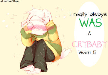 Crybaby~Asriel by LoZfan4Dayz