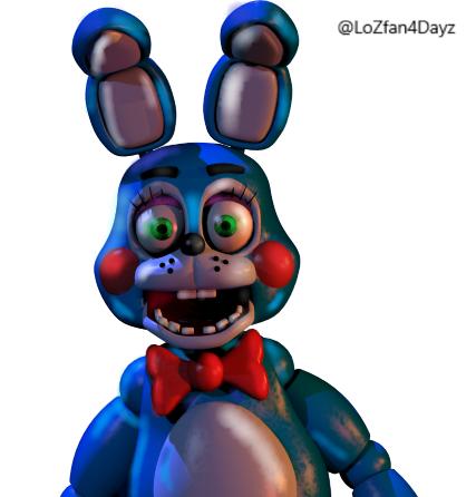 Toy Bonnie~My Edit by LoZfan4Dayz