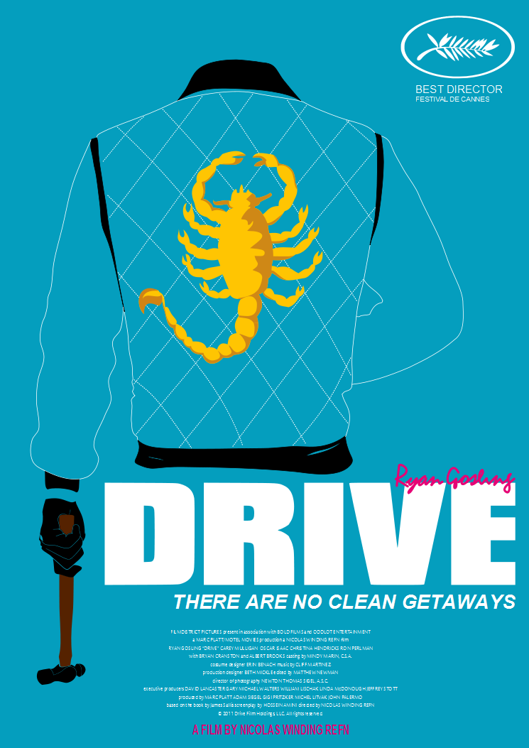 Drive's DVD cover by ~ian-fremont