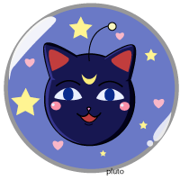 LunaP Pin by pluto-san