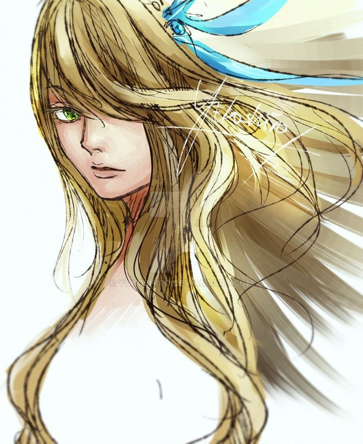 Sketch work by Yokoshiro
