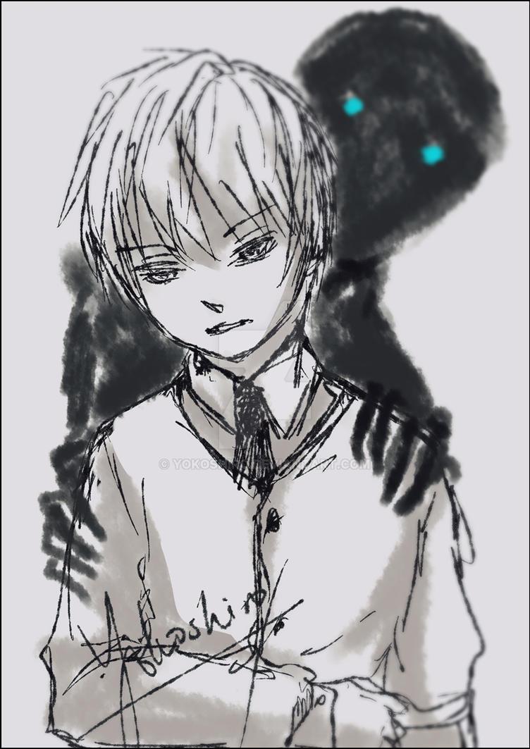 The 'Friend' Behind by Yokoshiro