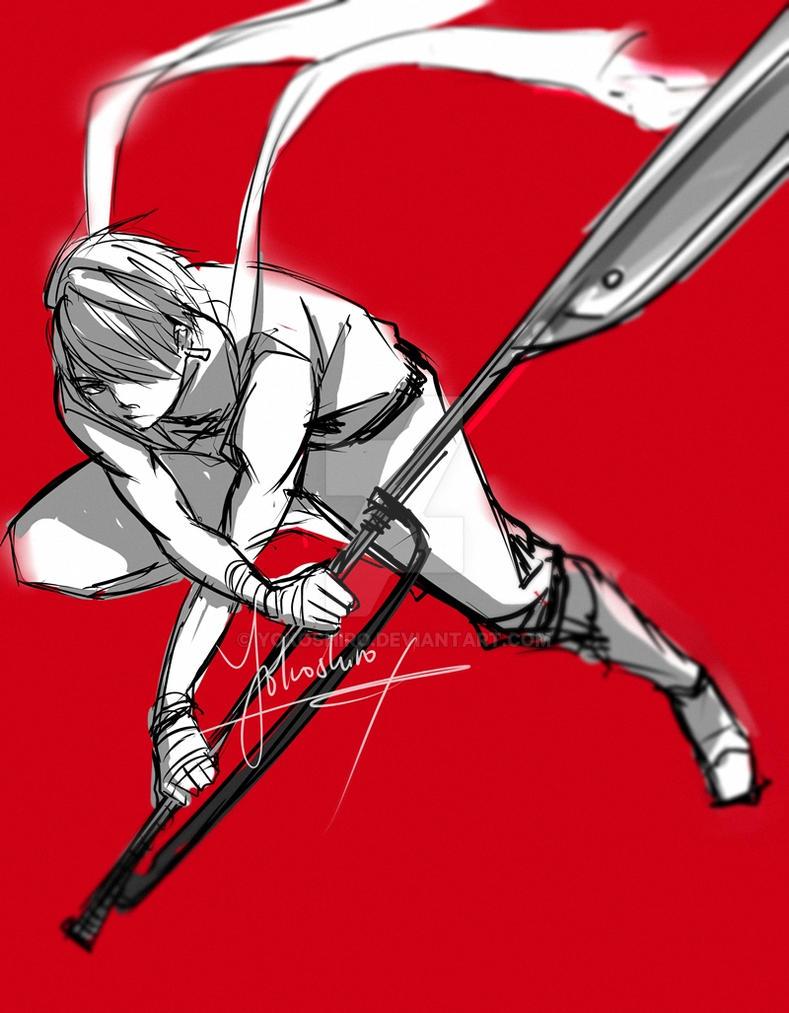 warrior by Yokoshiro