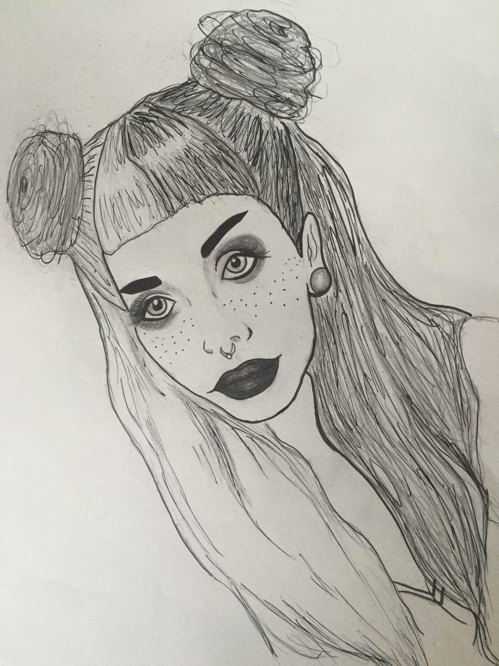 Melanie Martinez Realism Drawing By Marygoesrawr