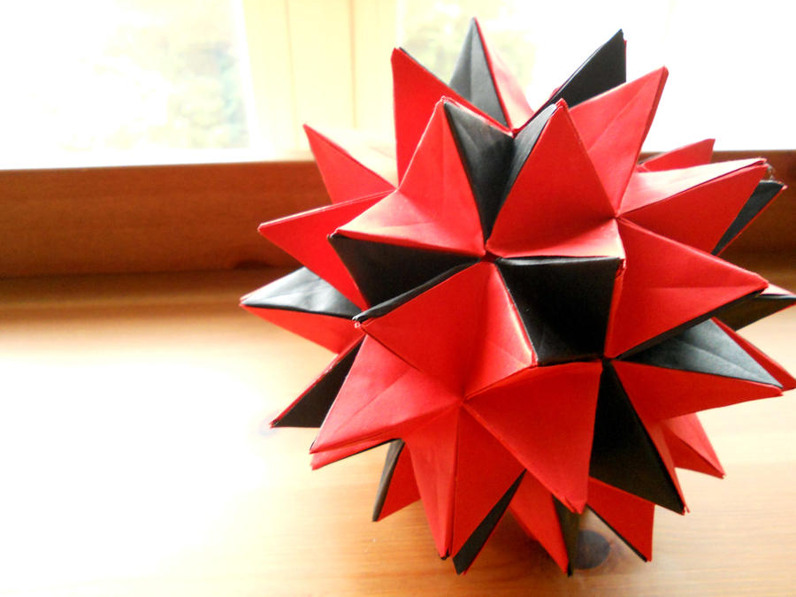 Origami Spiky Ball