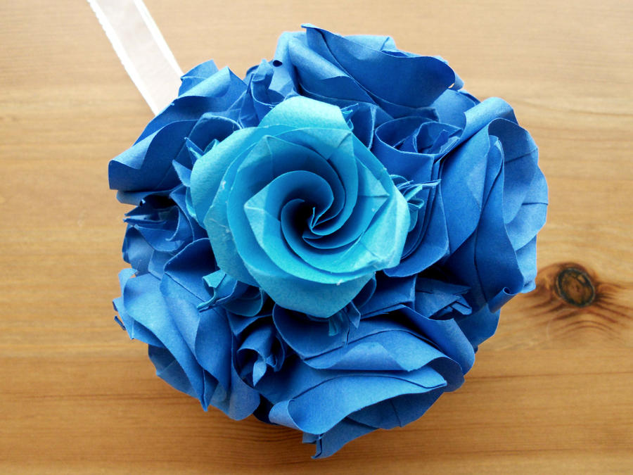 Kusudama Versailles 5 Inch Origami Ornament 2 By Fail To Pale On