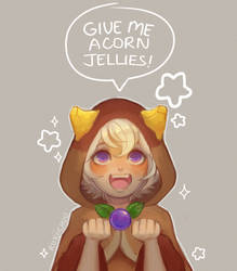 Give Me Acorn Jellies! by Roxiichuu