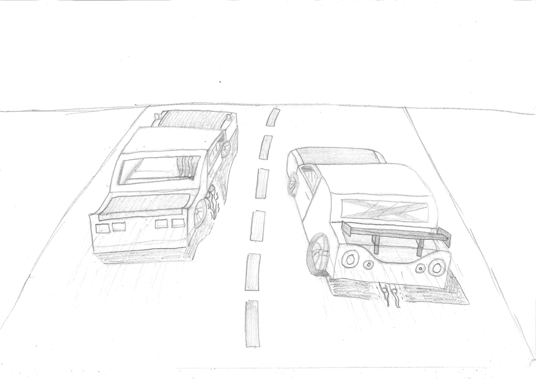 *POSSIBLE SPOILER* C10 vs R34 (WIP) by JT89006