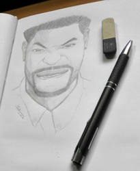 King Bach portrait by Mesrt99