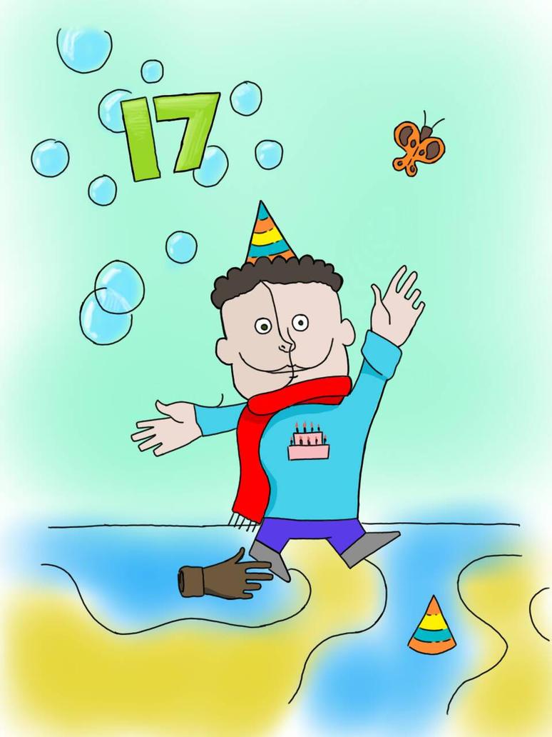 17 birthday by Mesrt99