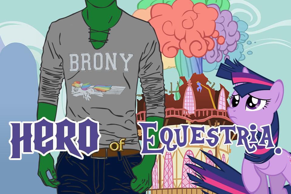 Brony Hero of Equestria VN Edition (link in desc.)