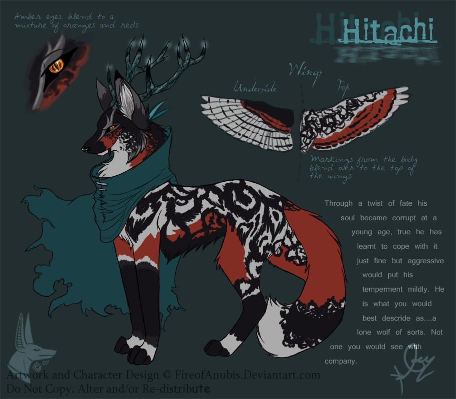 ...: Hitachi :... by FireofAnubis