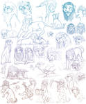 . TLK - KH Sketch Page . by FireofAnubis
