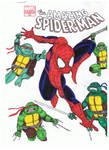 TMNT and Spider-Man