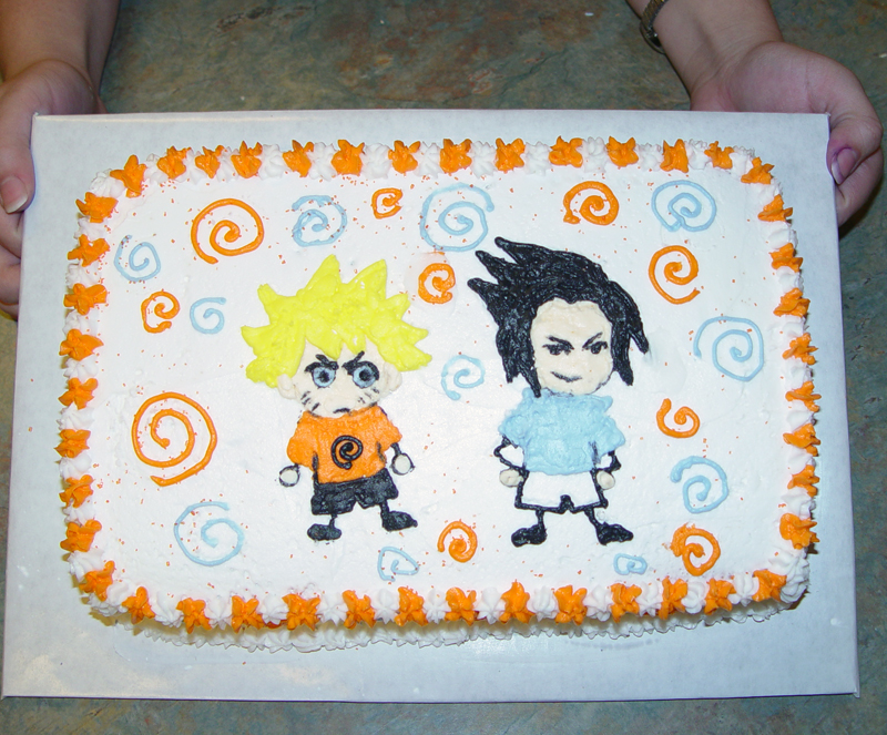 The great ideas of naruto birthday cake birthday invitations naruto birthday cake stopboris Choice Image