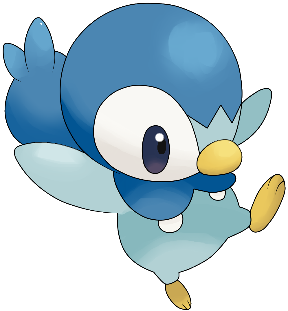 download pokemon starters piplup - photo #45