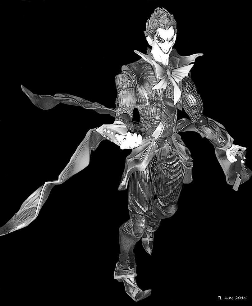 Joker Variant Figure by AvasweetsJoker