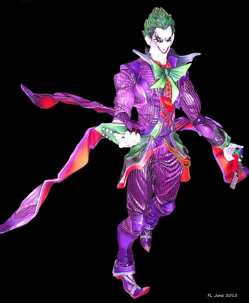 Joker Variant Figure (colored) by AvasweetsJoker