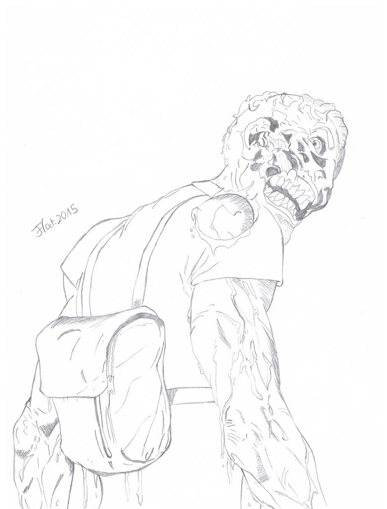 The Pale Man by AvasweetsJoker