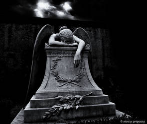 Angel of Grief.. by marcuspropostus