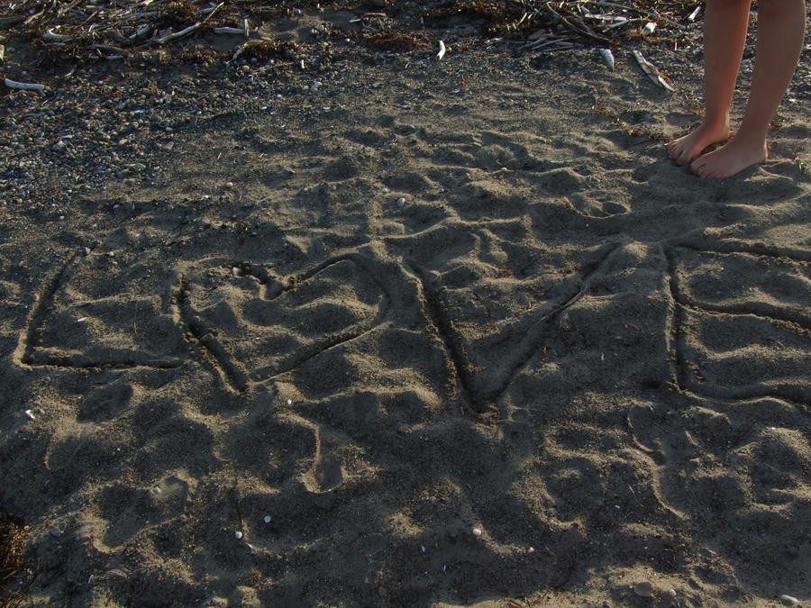 Love Written in Sand by BreeHale9