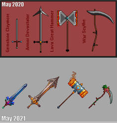 One Year Of Pixel Art