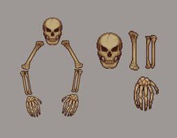 Terraria Resprites   Skeletron