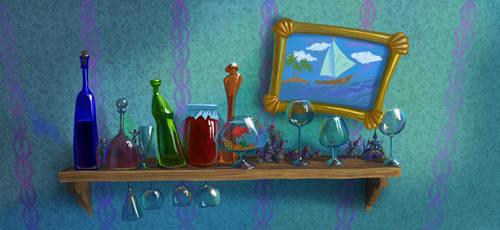 Micropolis Glass by Tigrenka