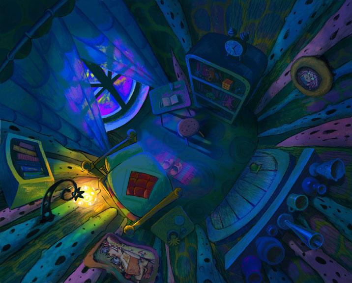 Micropolis Night Room By Tigrenka