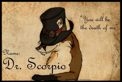 Dr Scorpio