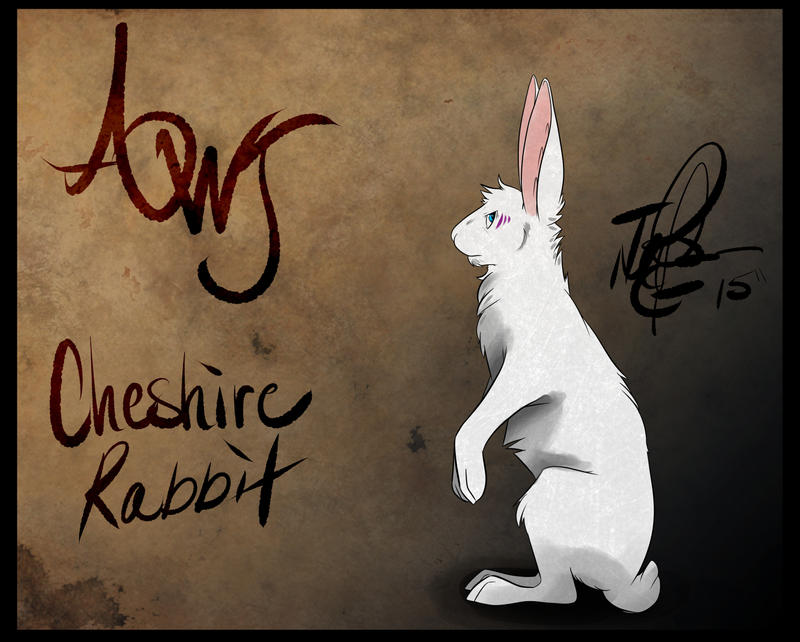 Cheshire Hare - Awj by MadCheshireFox