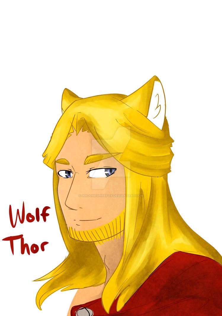 Thor by MadCheshireFox