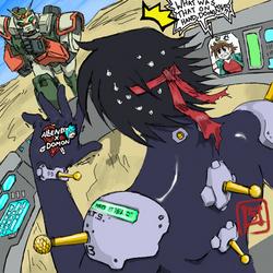 G-Gundam shenanigans by GundamMeister