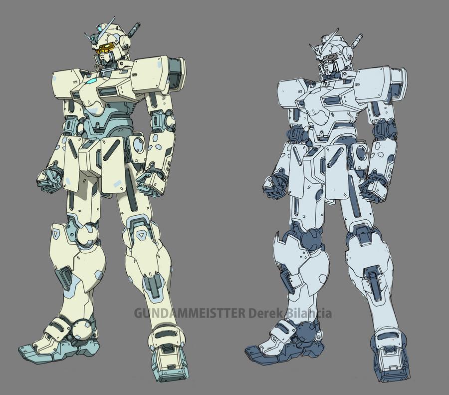 Phoenix Gundam Clean [WIP] by GundamMeister