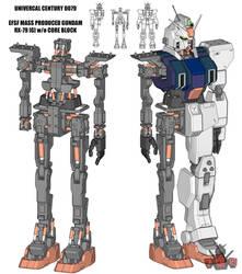 RX-79 [G] 3D WIP 2 by GundamMeister