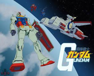 Kidou Senshi Gundam by GundamMeister