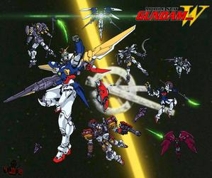 New Mobile Report Gundam WING by GundamMeister