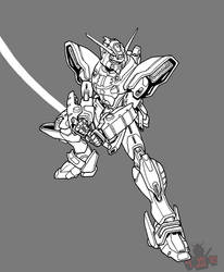 The Gundam That Fell to Earth by GundamMeister