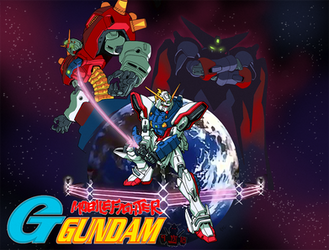 Mobile Fighter G-Gundam by GundamMeister