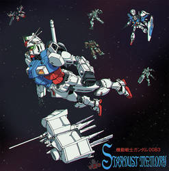 Gundam: Stardust Memory by GundamMeister