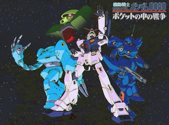 Gundam 0080: War in the Pocket by GundamMeister