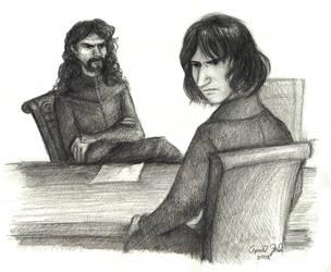 Potter, sit down. by kykywka