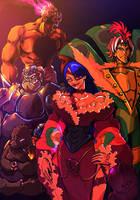 Four Generals by kykywka